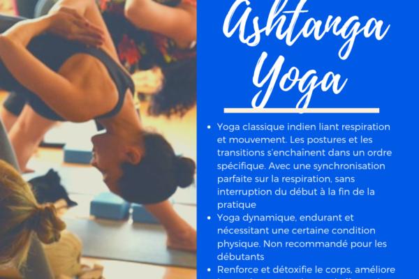 Ahstanga yoga