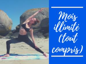 Mois illimité Yoga & méditation