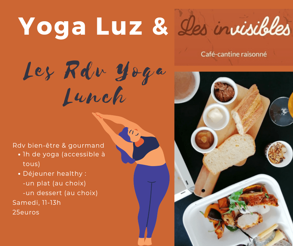 Yoga lunch les invisibles