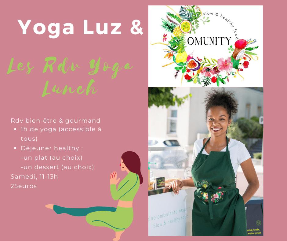 yoga lunch omunity